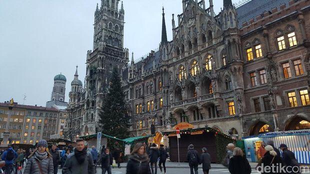 Balaikota tua Munich (Fitraya/detikTravel)
