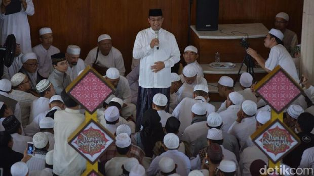 Ditemui Anies, Arifin Ilham: Insya Allah Tak Salah Pilih