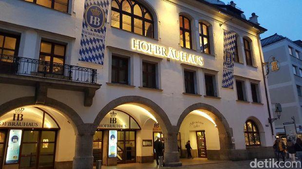 Restoran legendaris Hofbraeuhaus (Fitraya/detikTravel)