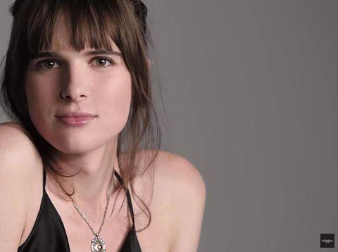 Hari Nef, Model Transgender Pertama untuk Iklan L'Oreal Paris