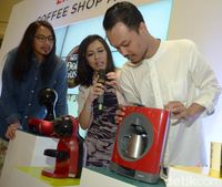 'Nescafe Dolce Gusto' Peracik Kopi Sekelas Kafe Kini Hadir di Surabaya