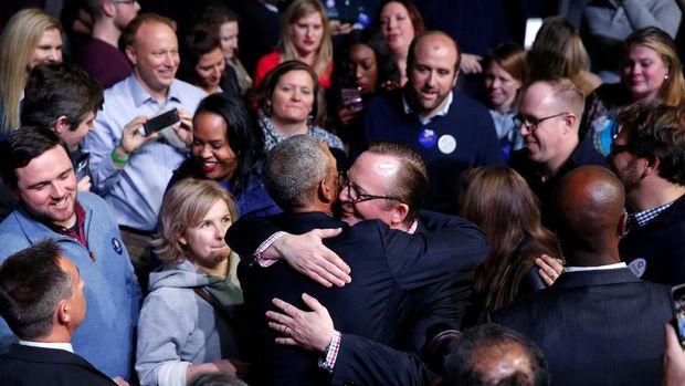 Pidato Perpisahan Obama Disusun Berbulan-bulan