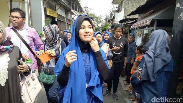 Annisa Pohan di Tanjung Duren Utara