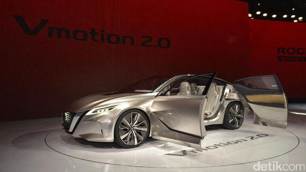 Sedan listrik Vmotion 2.0