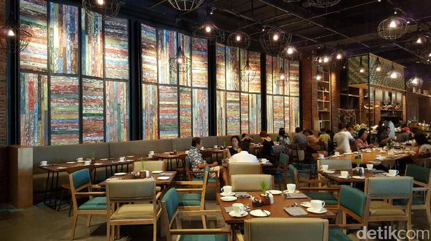 Restoran Anarasa, tempat sarapan yg instagrammable (Fitraya/detikTravel)