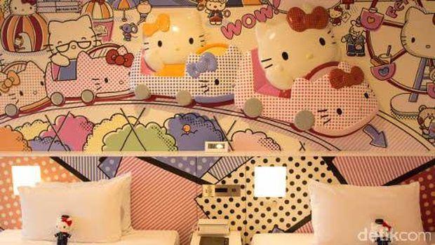 Serba Hello Kitty! (Randy/detikTravel)
