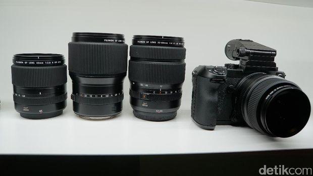 Fujifilm GFX 50S Resmi Dibanderol Rp 87 Juta