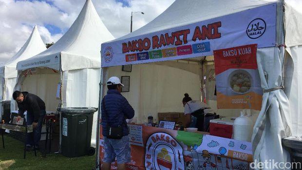Sejumlah kuliner Indonesia pun hadir (Isfari/detikTravel)