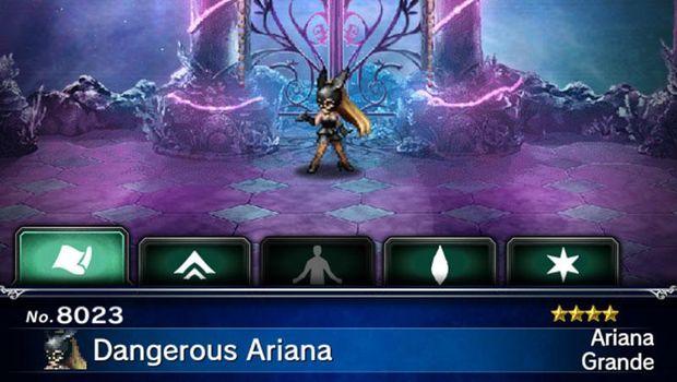 Begini Cara Gaet Ariana Grande di Final Fantasy: Brave Exvius