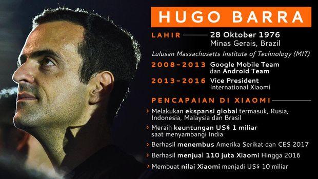 Tugas Baru Hugo Barra di Facebook