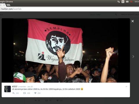 Saat Kasus Bendera Ditulisi Bacaan Arab Buat Iwan Fals Khawatir