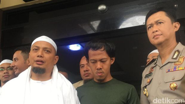 Ustaz Arifin Ilham, Nurul Fahmi dan Kapolres Jakarta Selatan Kombes Iwan Kurniawan