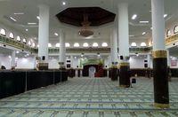 Suasana di dalam Masjid An Nur (Wahyu/detikTravel)