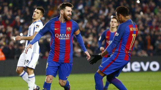 Pujian Luis Enrique untuk Messi dan Denis Suarez