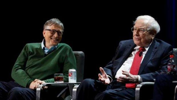 Bill Gates dan Warren Buffet