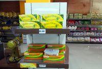 Bolu gulung durian dan bolu gulung nanas Mega Rasa (Wahyu/detikTravel)