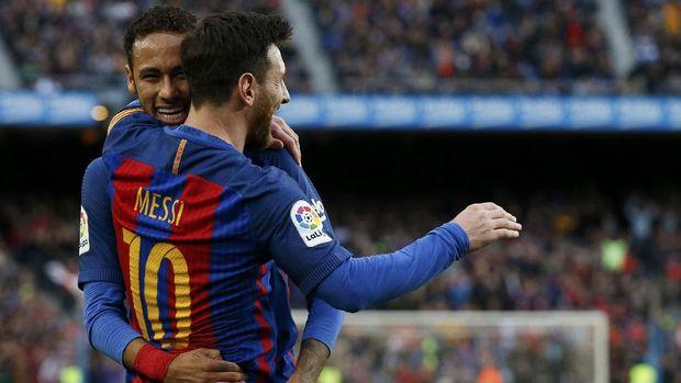 Lionel Messi menjadi salah satu pesepakbola yang mampu mengalahkan rekor transfer Neymar.