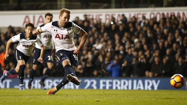 Penalti Kane Menangkan Spurs Atas Middlesbrough