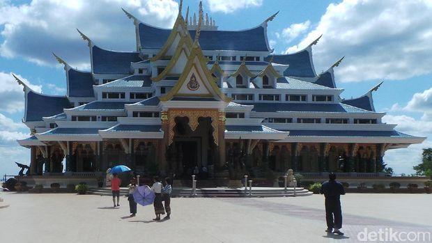 Vihara Wat Pa Phu Kon (Masaul/detikTravel)