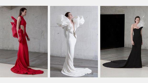 Koleksi Haute Couture Spring/Summer 2017 Rolland menjadi salah satu karyanya yang terbaik, mengawinkan kekuatan struktur, garis, dan potongan asimetris.