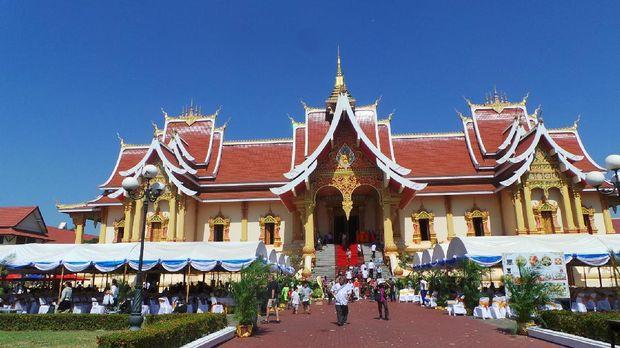 Pha That Luang (Masaul/detikTravel)