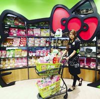 Wah, Lucunya Supermarket Bertema Hello Kitty di Hong Kong!
