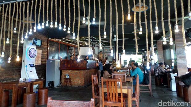 Suasana kafe yg instagenik (Wahyu/detikTravel)