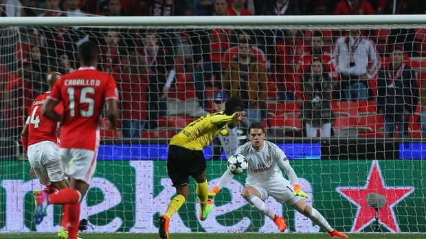 Dortmund Kalah Tipis di Markas Benfica