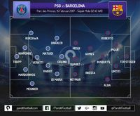 PSG Memadukan <i>Pressing</i> Agresif dan Keunggulan Fisik untuk Benamkan Barcelona