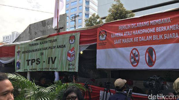 Presiden Jokowi Akan Mencoblos di TPS IV Gambir Bersama Iriana