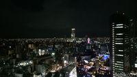 Pemandangannya makin indah di kala malam (Dhani/detikTravel)