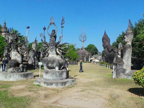 Buddha Park, Taman dengan Patung Jumbo dari Laos