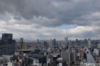 Banyak gedung pencakar langit seperti Tokyo (Dhani/detikTravel)