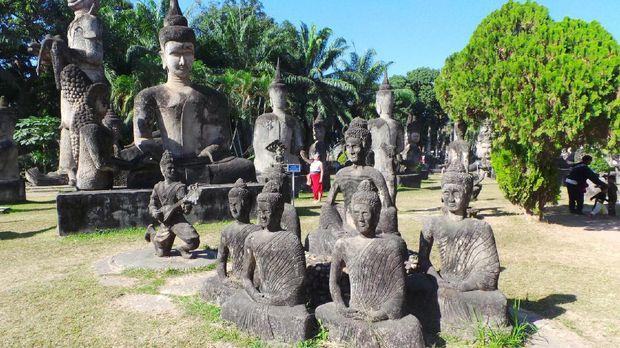 Destinasi merupkan tempat singgah para wisatawan perjalanan dari Thailand menuju Vientiane, Laos (Masaul/detikTravel)