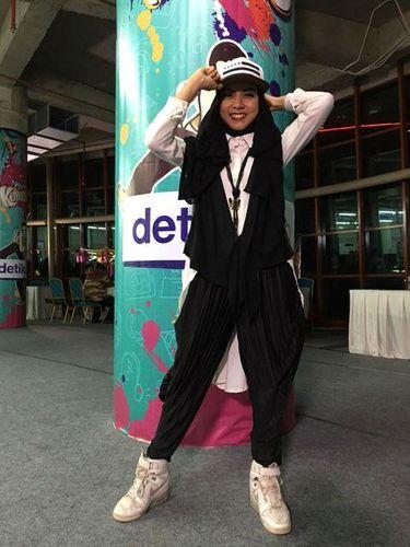 Foto: Gaya Stylish Para Juara dan Finalis Hijab Hunt