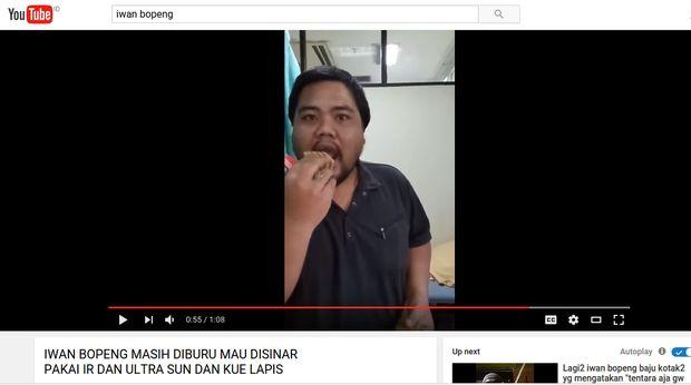 Reaksi netizen atas ucapan Iwan Bopeng.