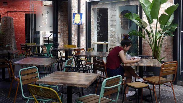 Traveler bisa menikmati makanan Asia di Spice Alley (Wahyu/detikTravel)