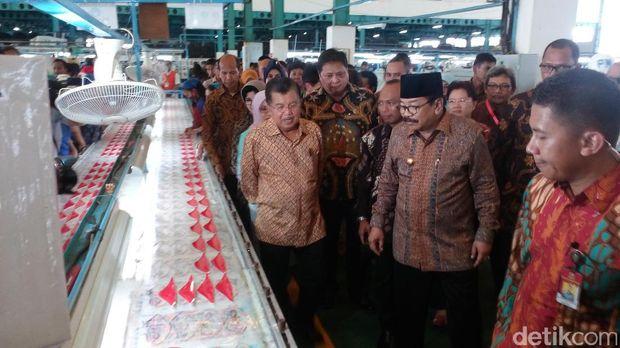 Wapres JK tinjau pendidikan vokasi di Jawa Timur
