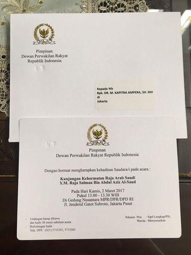 Rizieq dan Ulama GNPF MUI Diundang DPR Simak Pidato Raja Salman