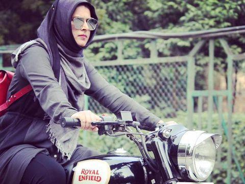 Roshni Misbah, Hijabers India yang Populer karena Hobi Naik Motor Gede