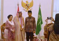 Raja Salman Akhirnya Bertemu dengan Anak dan Cucu Bung Karno