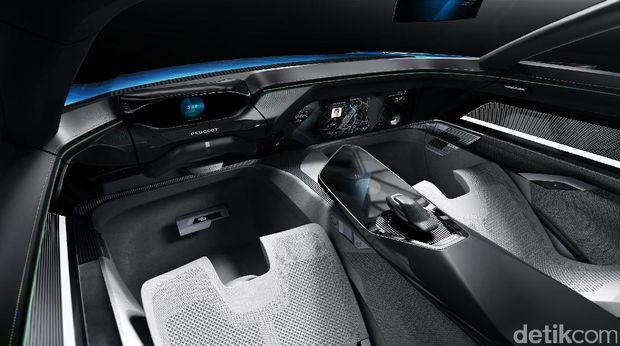 Cantiknya Mobil Tanpa Sopir Peugeot