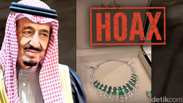 Isu Pemberian Cenderamata Berlian dari Raja Salman untuk Iriana
