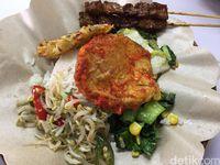 Kehidupan: Makan Murah Meriah dengan 'Sate' dan 'Telur' Vegetarian yang Sedap