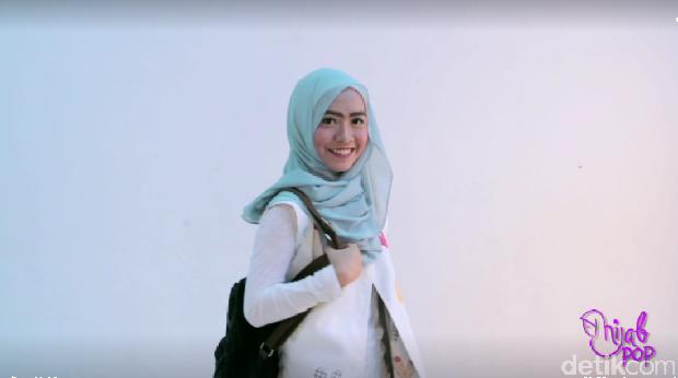 Tutorial Hijab untuk Traveling Ala Juara 1 Sunsilk Hijab Hunt 2016