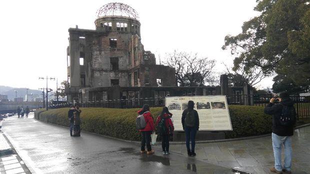 Monumen Genbaku Dome (Ammang/detikTravel)