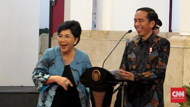 Titiek Puspa akrab dengan Presiden Republik Indonesia mulai dari Soekarno hingga Joko Widodo.