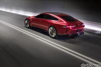 Mercedes-AMG GT Concept, Mobil Sport Hybrid dari Mercy