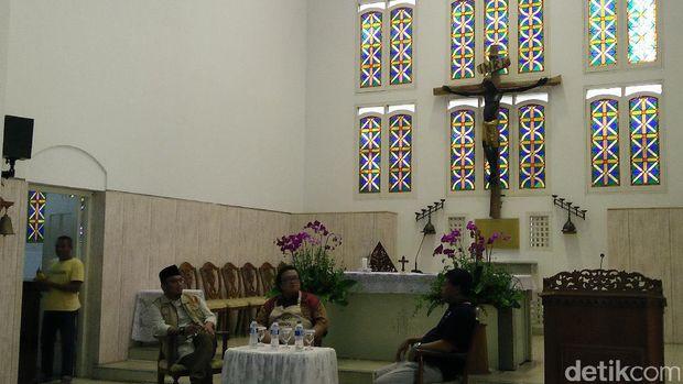 Gaungkan Toleransi, Muhammadiyah Sambangi Gereja Kolese Kanisius