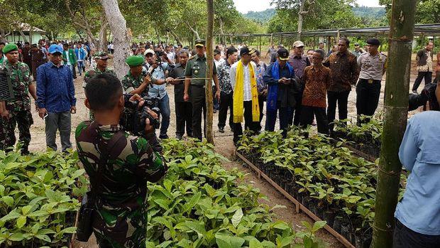 Melongok 'Tambang Emas Hijau' dan 'Emas Biru' di Maluku